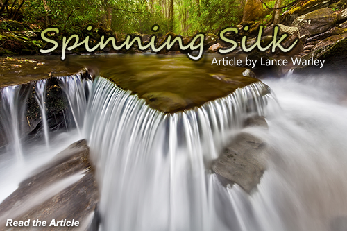 Spinning Silk by Lance Warley, click to read.